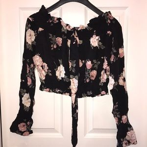 Heart Hips floral print top